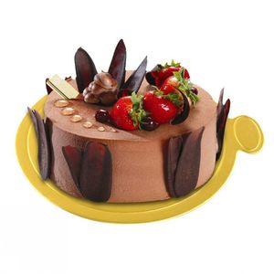 Gold 100pcs Set Cupcake Round Paper Mousse Boards Dessert Displays Tray Wedding Birthday Cake Pastry Decorative Tools Kit