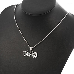 2020 Juice WRLD Pendant Necklace Round Strand Chain Stainless Steel Necklace Fans Gifts Collares Mujer1