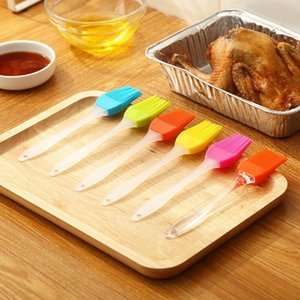 Новое силиконовое масло кисти BBQ Oil Cook Cuttry Grill Food Break The Basting Bakeware Кухонный обеденный инструмент может предложить другие выпечки WY971