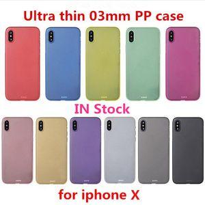 0.3mm ultra-fino estética pp telefone caso para iphone 12 mini 11 pro x xs max xr 8 7 6 mais fosco full flexible flexible capa