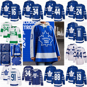 Toronto Maple Leafs 2021 Ters Retro Formalar Mitch Marner Auston Matthews John Tavares William Nylander Rielly Barrie Zach Hyman Kerfoot