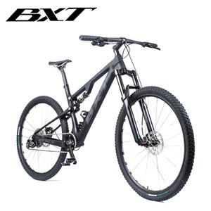wholesale 29er Full Suspension Mountain Bicycle T800 Carbon MTB Bike 11Speed Carbon S M L XL Bike Frame Complete Bike 29*2.1? Wheel