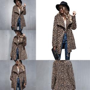 74QFB Искусственное зимнее пальто Топ Gelish Мужская шуба Стильная Вершина Мужская Новая Мода Повседневная Ягненка Кашемир Свободные Леопардовые Кнопка с длинным рукавом