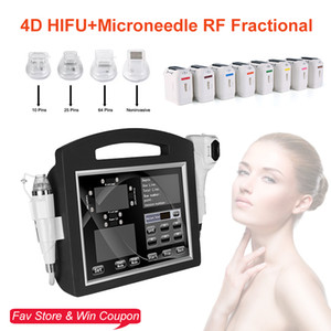 NEW fractional micro needle super rf micro point +4d HIFU Ultrasound Face Lifting Body Slimming wrinkle remover rf microneedle machine