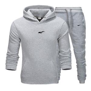 2021 men Tracksuit New Sportswear Sets Winter 3XL Casual clothes large size woman Two Piece Suit Hoodies Sweatshirt+joggers pants