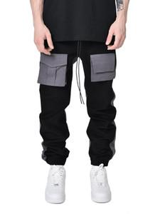 Streetwear cargo pant mens casual pants hip hop joggers fashion sweatpants trousers 2021 pantalon homme