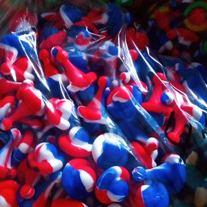 Silicone Carb Cap Dia 25 milímetros Para Quartz Banger Nails Silicon Carb Caps Cores misturadas Food Grade Silicon quartzo Banger Unhas