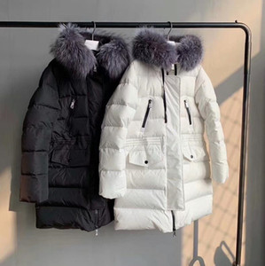 women winter jacket down jacket Fur collar Top Quality Winter Coat New Women Winter Casual Outdoor Warm Feather Outwear Thicken Lengthen