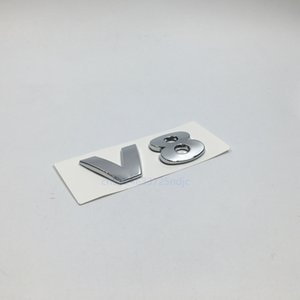 For VW Volkswagen Passat CC Touareg Pheaton V8 Chrome Rear Tail Badge Emblem Stickers
