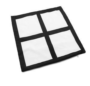 Heat Transfer Sublimation Blanks Pillowcase Square 4 Block DIY Printing Photo Pillow Cushion Cover Wedding Birthday Decor Pillows GWF3767
