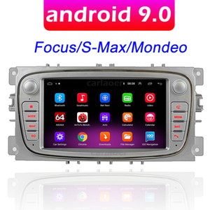 Android 9.0 GPS Car Radio 2 DIN Multimédia Player 7 '' Audio Player pour Ford Focus S-Max Mondeo 9 Galaxy C-Max Pas de DVD
