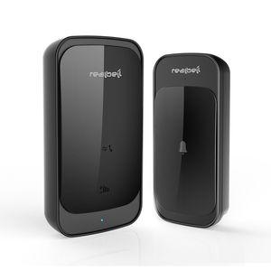 Home Wireless Doorbell Ac Digital Music Door-Bell Remote Waterproof Wireless Remote Touch Sensor Doorbell