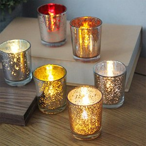 Candle Holder Starry Night Tea Light Holder Simple Christmas luminous candlestick Dining Table Wedding Decoration SEA SHIPING GWE3288