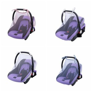 Crib Baby Strollers Bassinets Breathable Mesh seat covers Bug Insect Netting Infant Carriers Car Seats Cover Cradles DHD836