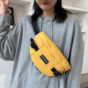 Harajuku Crossbody Fanny pack Phone Pack Street style Unisex Waist Belt Bag Casual Hip hop Chest Bag Women Waist Hip