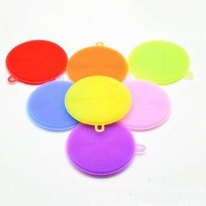 Silice Gel Spazzola per lavastoviglie Multi-Fonction Magic Silicone Piatti in silicone Ciotola Pennelli per la pulizia Pennelli da taglio Pannelli Pannelli Pannelli Pennelli Pennelli BWA2446