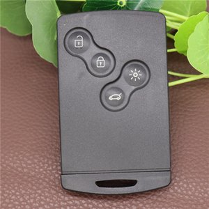 Remote Card Smart Auto Key Shell für Renault Megane 3 Clio 4 Koleos Szenische Laguna 4 Button Auto Remote Key Shell