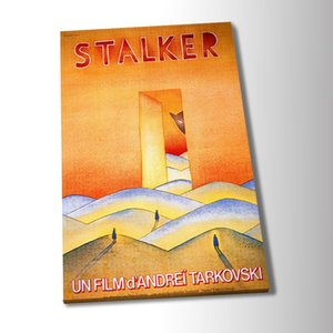 HD Canvas Print Home Decor Art Painting Stalker Andrei Tarkovsky Vintage Film Poster Art Greeting Card