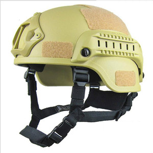Açık 4 Renkler Boyutu ABS Taktik Kasklar Alan CS Sürme Kask Kamp Soldier Ekipmanları Ücretsiz Kargo 2 NVMLU