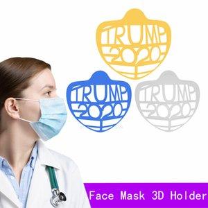 Ruj Trump Braketi 3D Koruma Tek Kullanımlık Standı Maskesi İç Destek Nefessiz Serbestçe Yüz Maskeleri Tutucu Aracı XHQAN4