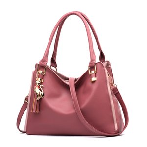 Fashion Women Bags Handbags Wallets Leather Bag Crossbody Shoulder Bags Messenger Tote Bag Purse 5 colors Pink