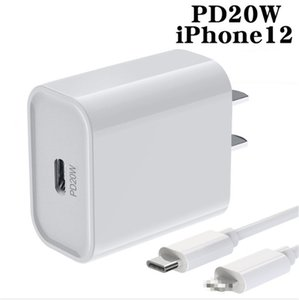 PD 20W US EU Charger USB-C Fast Charging Power Adapter For i11 12 11 pro max