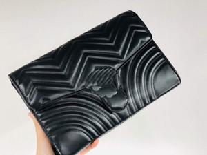 2020LUXURYS designers carteira bolsa senhoras moda embreagem couro macio bolsa de mensageiro bolsa de fannypack com caixa womens wallet inteiro