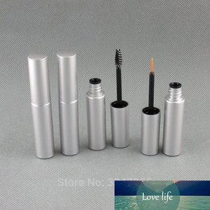 8ML 60pcs lot High-end Empty Cosmetic Eyeliner Tube, Plastic Frosted Silver Mascara Tube, Eye Professional Makeup Tools