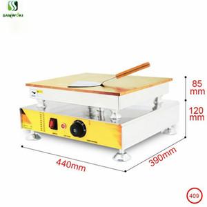 Souffle Machine Mécanique Contrôle de la température Simple Pan Souffle Pancake Faire machine Souffler Gaufre Maker