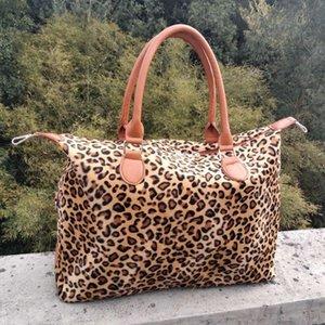 Leopard Capacity Print Large Sports Maternity Weekend Women Bags Totes Handbag Yoga Storage Travel Cow DDA827 Bag Fjqnm Utkqg