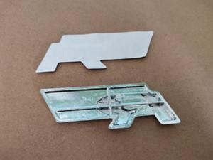 NUOVO 10 pz / lotto Red Black Metal Car Sticker R Linea R Line Distintivo Emblem Sticker per MK6 MK7 Passat B5 B6 B7 Tiguan Polo Golf 5 6 7