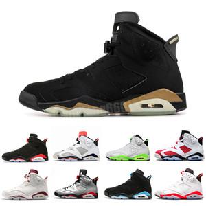 2019 men Black Infrared 6 6s Basketball Shoes mens CNY Carmine Gatorade Green Tinker UNC Black Cat Designer trainers sneakers US 7-13 V5D6D