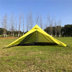 MountainCattle 2 Person One Pole Hiking Tent For Camping Backpacking Lightweight Equipment Factory