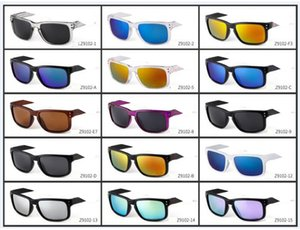 MOQ = 10 قطع الساخن بيع ماركة رجل وامرأة الاستقطاب النظارات الشمسية الرجال النساء الرياضة الدراجات نظارات نظارات نظارات النظارات الشاطئ الغازات 15 لون السفينة حرة