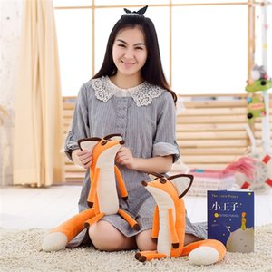 1pcs 60cm The Little Prince And The Fox Plush Dolls , Stuffed Animals Plush Education Toys For Babys Christmas gifts Soft toys Q0112