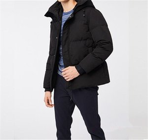 2020 New Style Joker Hot Sale Down Coat Canadian Casual Handsome Fashion Business Goose Down Warm Winter Jacket For Man