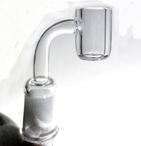 4mm thick club banger domeless quartz nail 10mm 14mm 18mm male female 90 45 Degrees 100% Quartz Enail for Glass Water Pipes