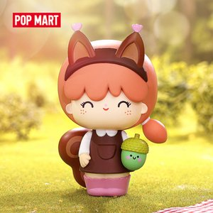 POP MART Momiji Explore Collectible Cute Action Kawaii Gift Kid Plastic Toys Figure Free Shipping Q1123