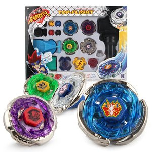 BeyblaDs Metal Fusion Toys для продажи Beyblades Спиннинг Топы Игрушечника Комплект Игрушка Beyblads с двойными пусковыми пусками Ручной Спиннер Металлические Топы Q1214