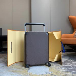 Newset Designers de Luxo Viagem Mala de Viagem Moda Unisex Tronco Saco de Tronco Flores Letras Bolsa Caixa De Bolsa Spinner Universal Roda Duffel Bags