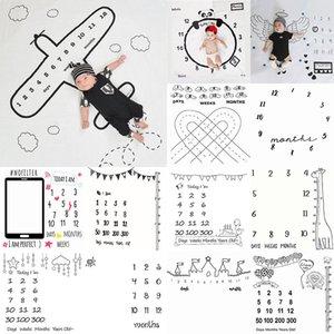 Puntelli per bambini Puntelli Digital Coperta Digitale Fotografia Bambina Coperte Poliestere Poliestere Panno Panno 100 * 100 cm Spedizione gratuitaXD24243