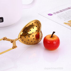 Stainless Steel Strainer Seasoning Infuser Star Shell Oval Round Heart Shape Coffee Tea Filter Balls Kitchen Tools OWD2730