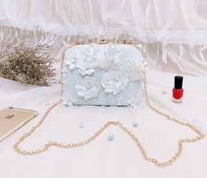Floral Pattern Women Evening Bag Party Envelope Clutch Handbag Glitter Sequins Sparkling Banquet Glitter Bag For Ladies Girls We