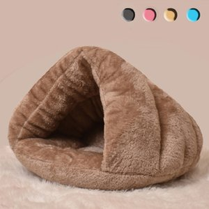 New Dog Cat Pet Beds Cotton Teddy Rabbit Bed House Snow Rena Dog Basket For Small Medium Dog Soft Warm Puppy Beds House 201222