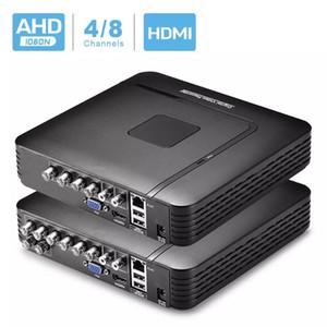 4 قناة 8 قناة NVR AHD DVR Surveillance Security CCTV مسجل فيديو DVR 4CH 720P / 8CH 1080N الهجين DVR للتناظرية AHD IP