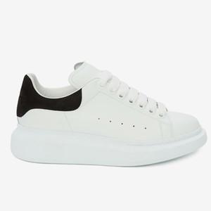 2021 Nueva Zapatilla de cuero genuino Sneaker Diseñador de alta calidad Zapatos casuales de moda MUJER MUJER HOMBRE SOBRE TRIENZIR TIENDIENTES Slippers Home011 13