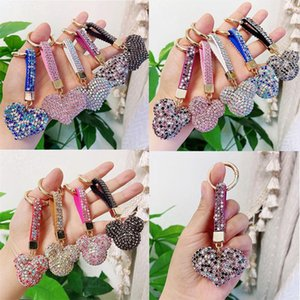Full Drill Special Shaped Diamond Painting Keychains Gifts Fne Small cartoon cute keychain handmade diamond mosaic bag
