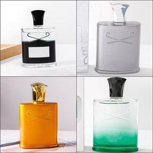 Vendita calda Creed Aventus Incenso Profumo per uomo Colonia 120ml con tempo di lunga durata Buono Odore di buona qualità Cavactrity fragranza