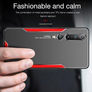 Lüks Metal Kılıf Xiaomi Mi 10 9 8 Xiaomi Redmi 8 8A 9 9A için Not 9 8 7 6 Mi8 Mi9