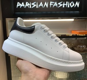 With Box  мужчин и женщин моды бренд работает белый кожаный синий синий пояс кроссовки NY0S0830 СИН G62 спортивные ботинки